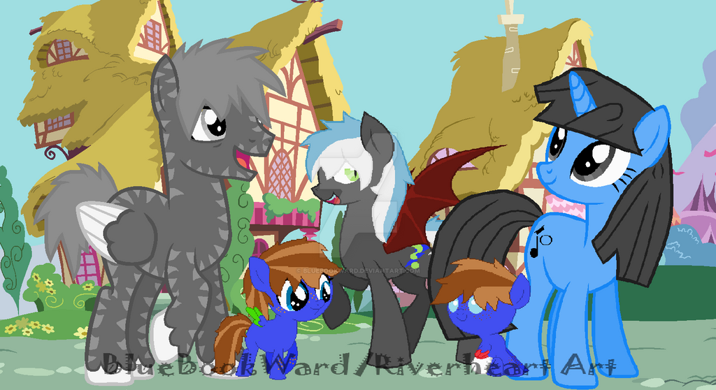 BlueBook's Family by BlueBookWard