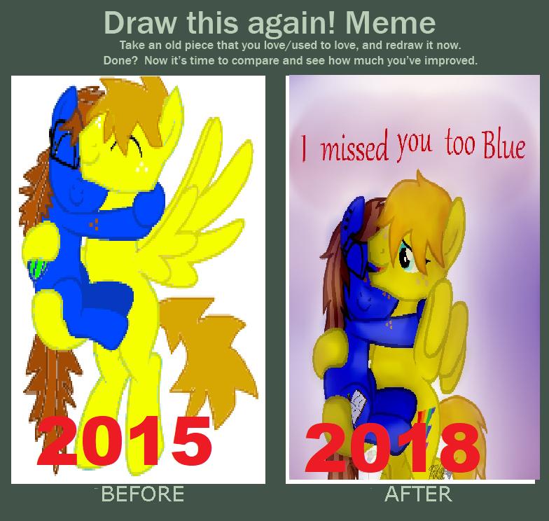 Draw this again meme by BlueBookWard