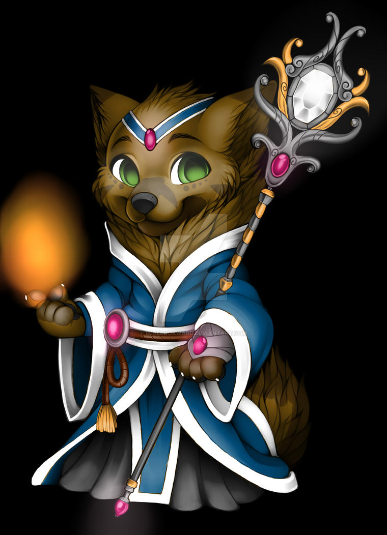 Sorcerer Ryan by BlueBookWard