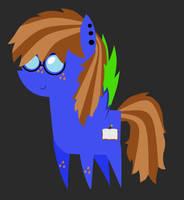 Pointy pony BlueBook by BlueBookWard