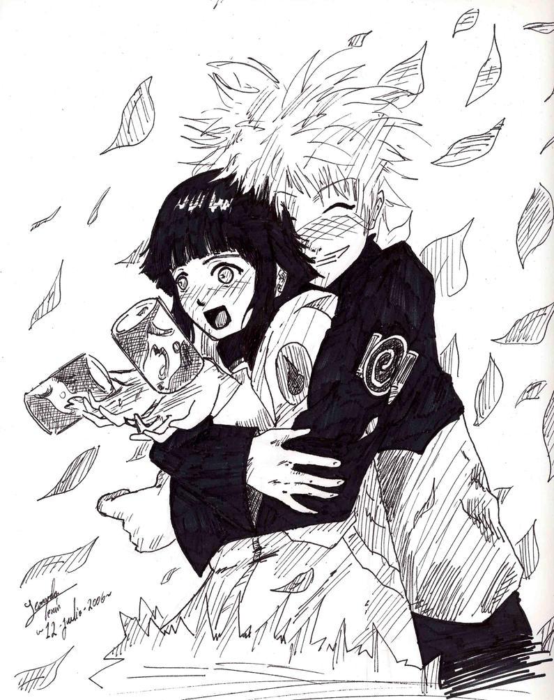 Naruto Hinata by Lennus