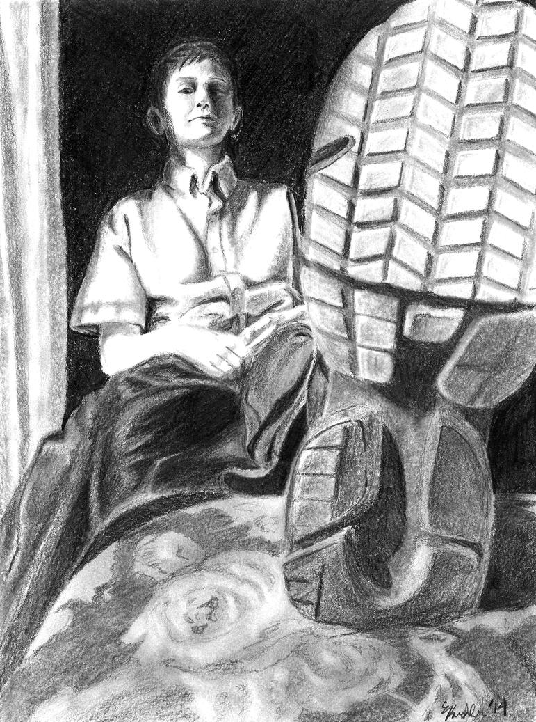 Portrait of a Fifth Grader by Journie