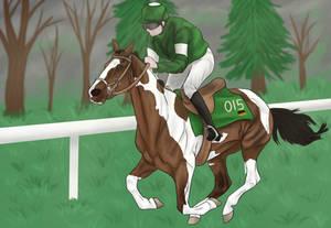 Running at the Pony Olympics by cierra15