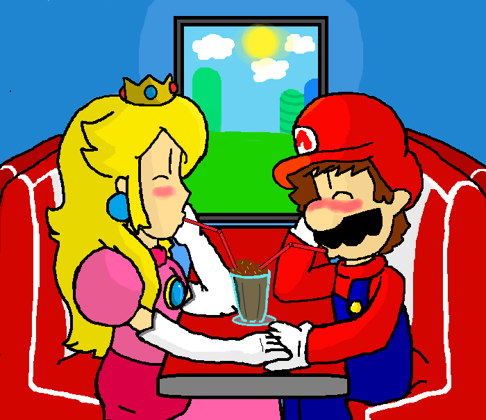 Mario And Peach Doing It In Bed | www.imgkid.com - The ...