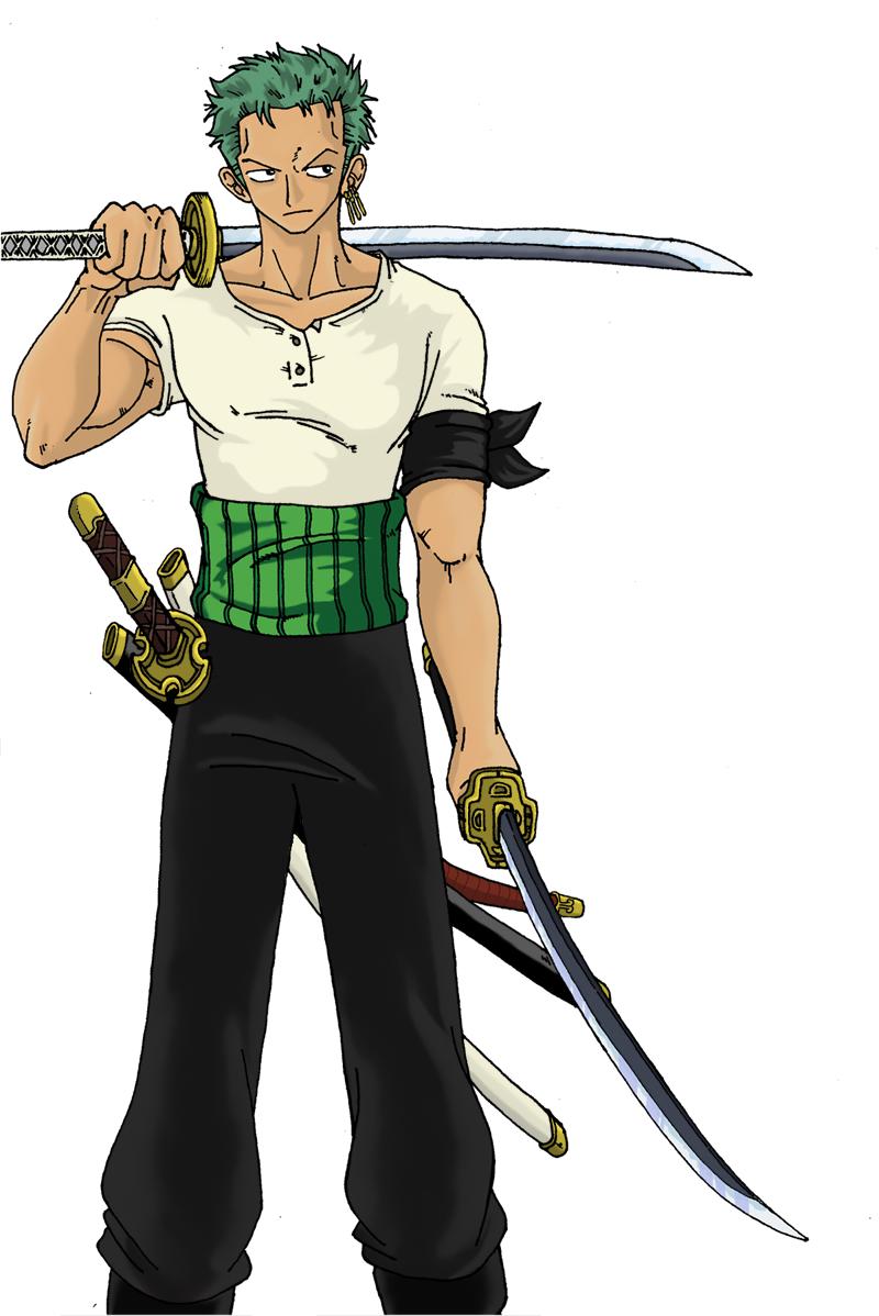 Zoro - One Piece by 0-Pau-0 on DeviantArt