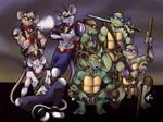 Biker Mice and Ninja Turtles