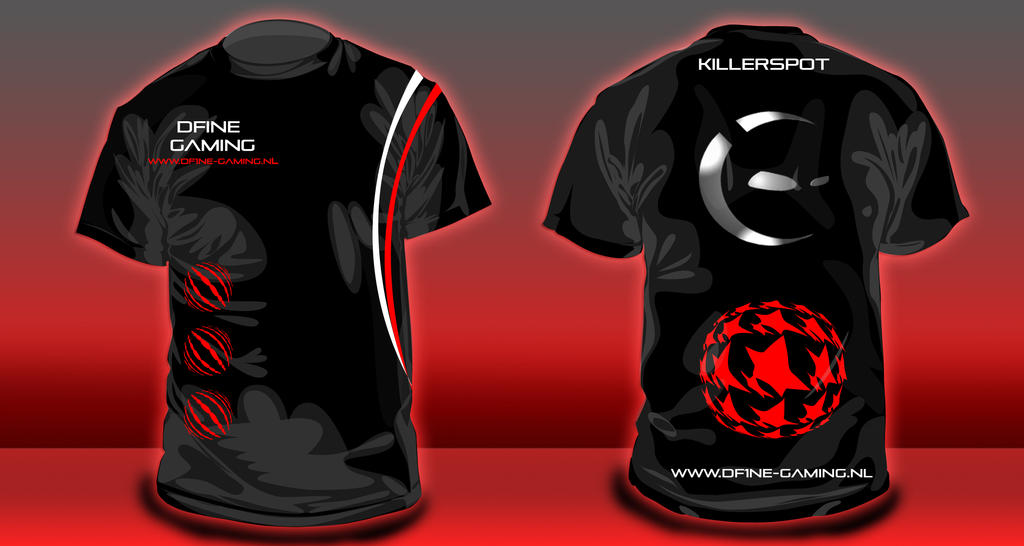 Dfine gaming lan shirt design by myvisualize on deviantart for T shirt design game