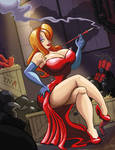 Jessica Rabbit plays with Fire