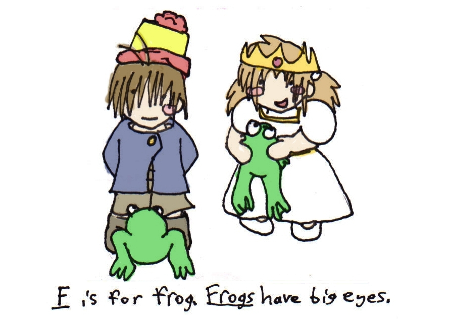 F if for Frog