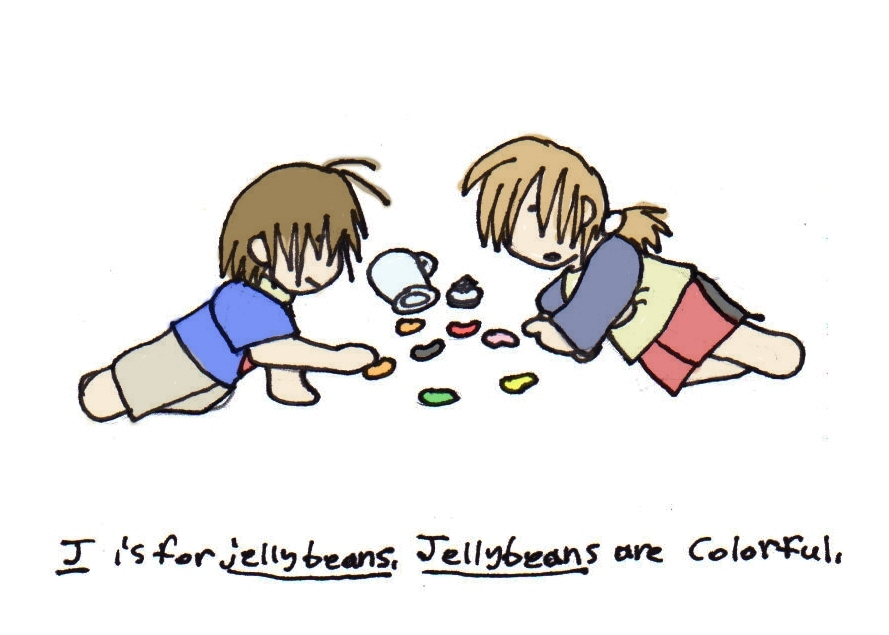 J is for Jellybeans