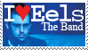 I Heart Eels the Band Stamp by Zeitwolf