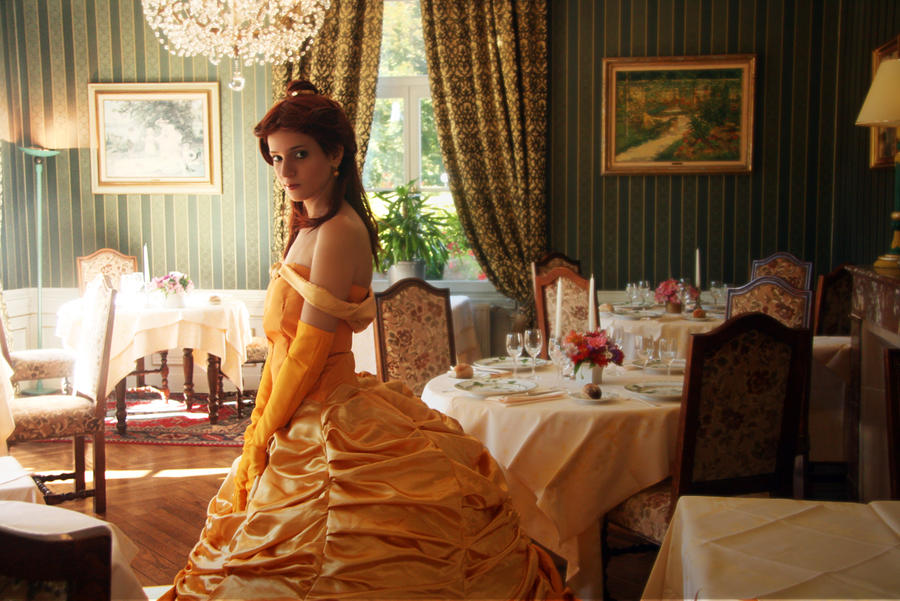 Belle: In the palace by Para0Doll