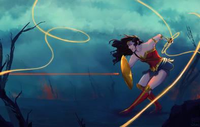 Wonder Woman by Para0Doll