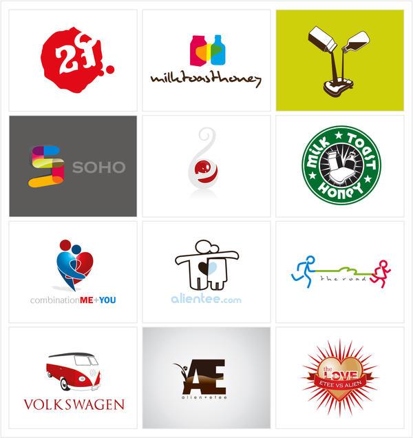 logo design by etee