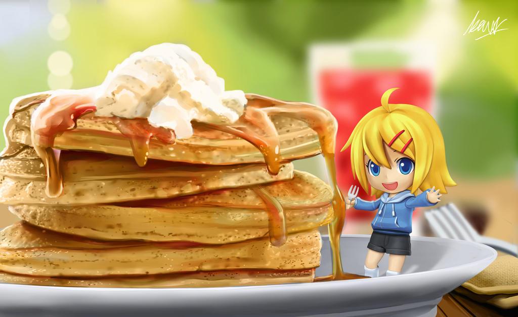 Pancake with Maya-chan
