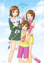 Hikari through Digimon Adventures ~ Tri.