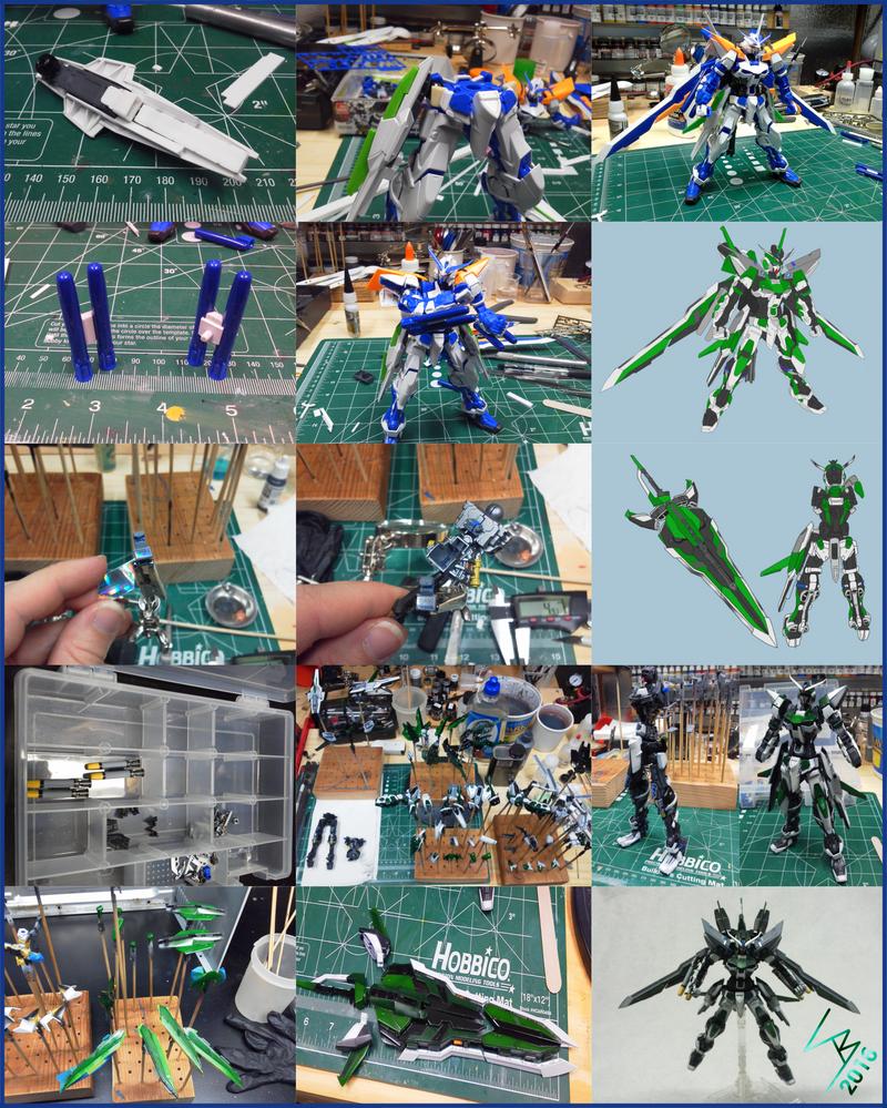 Vector Astray build process by SkylerCraft16