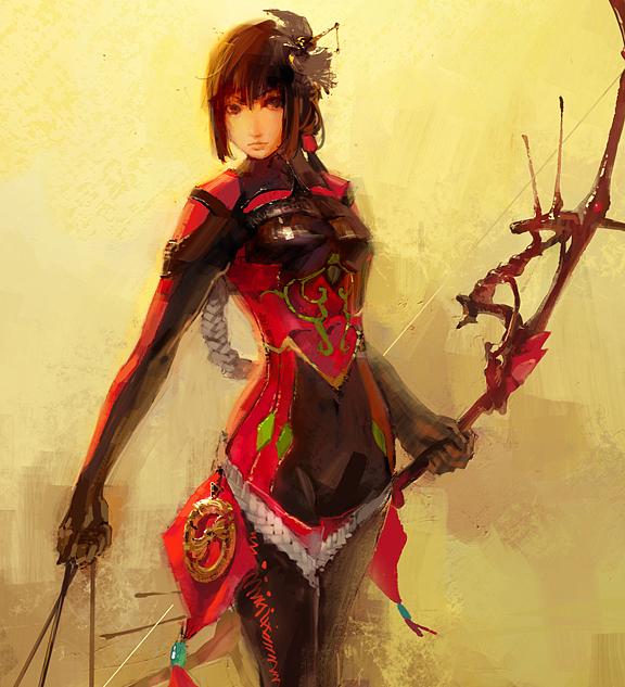 archer girl by Masway