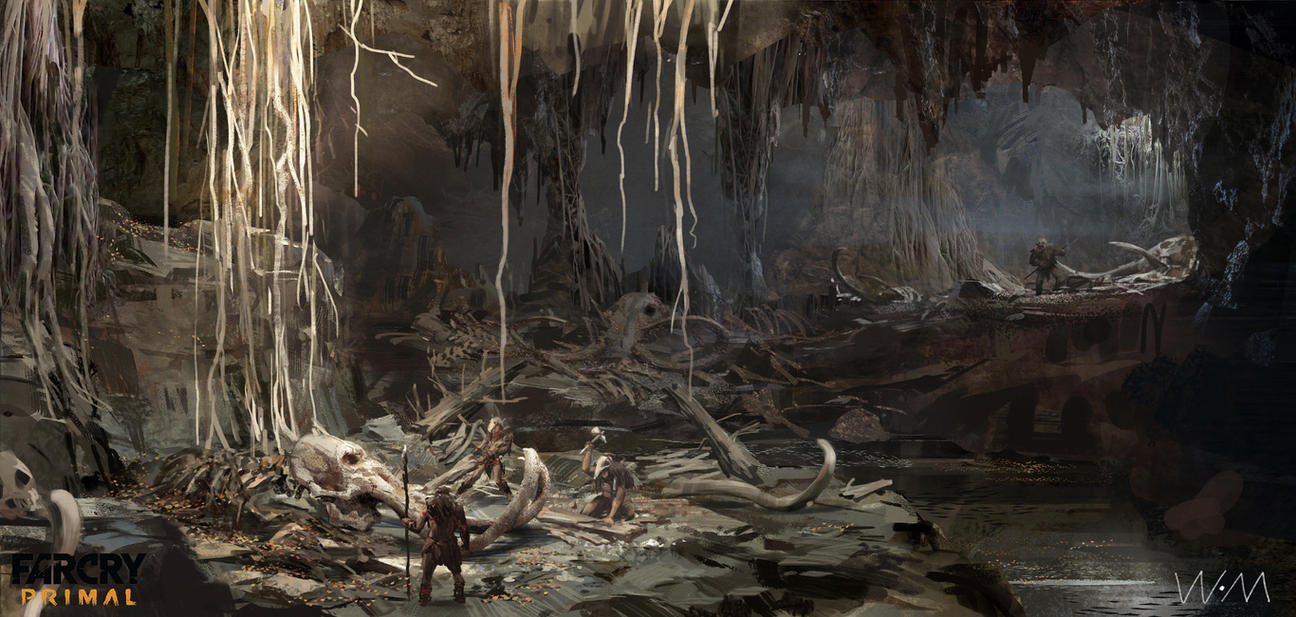 concept art of farcry primal 4 by waywayart