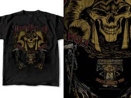 T-Shirt Design Monty Python 01 by RobDuenas