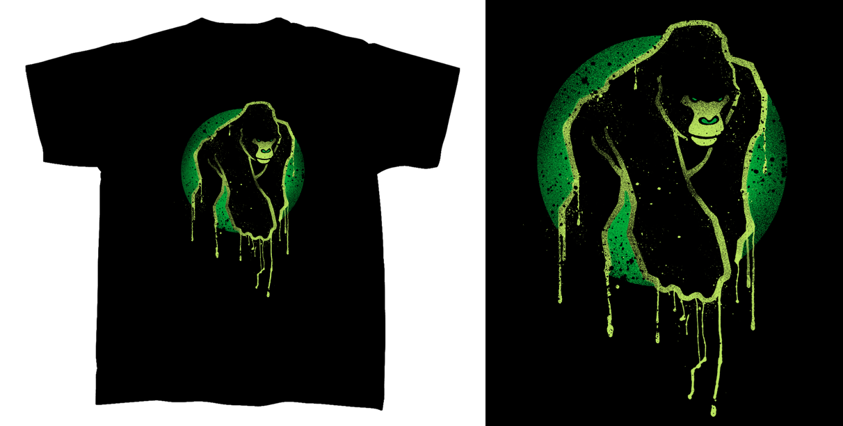 T shirt design ape comics 02 by robduenas on deviantart How to design shirt