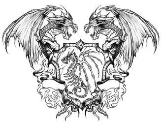 Dragon Crest by RobDuenas