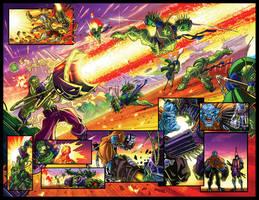 Monstroids Zero Issue 20-21 by RobDuenas