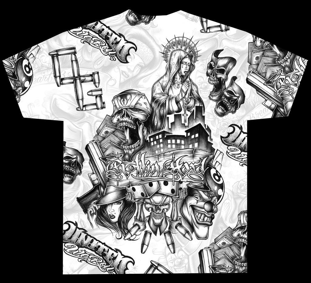 Final Shirt Design AOP by RobDuenas