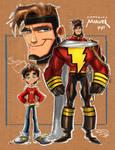 Captain Marvel  Sketch 001