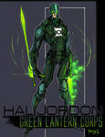 Green Lantern Sketch 001