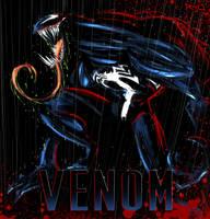 Venom Sketchy 002 by RobDuenas