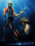 Aquaman Sketch 02