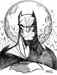 Morning Sketch - Batman 01