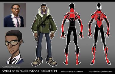 Design Phun -Spiderman 01 by RobDuenas