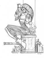 Commish Sketch 22 by RobDuenas