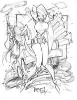Commish Sketch 29 by RobDuenas