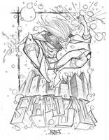 Commish Sketch 52 SpeedBall