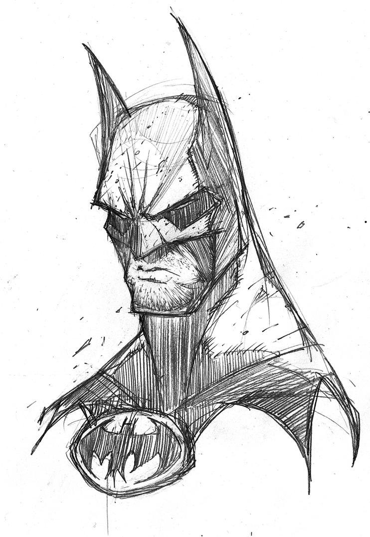 art 4 phun batman cowl scowl by robduenas