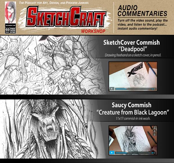 SketchCraft Issue 03 by RobDuenas