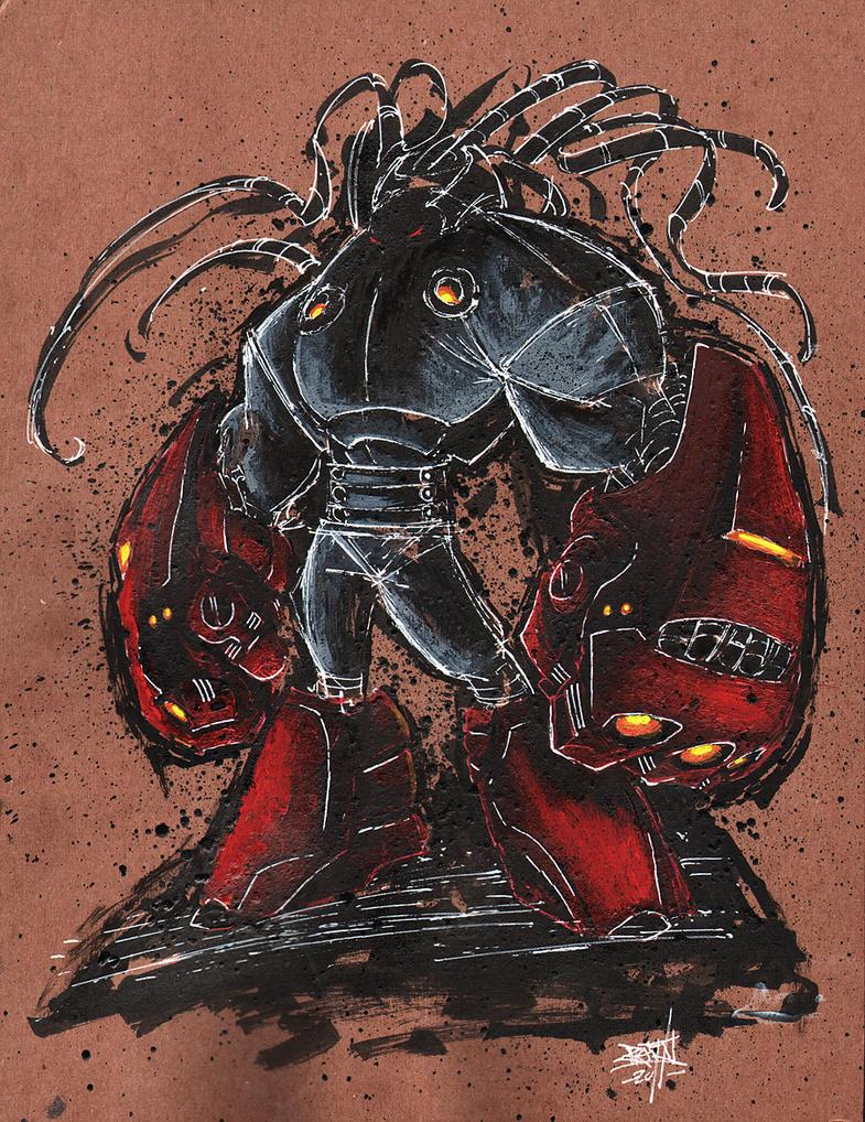 ART 4 PHUN: INK  GOUACHE 03 by RobDuenas