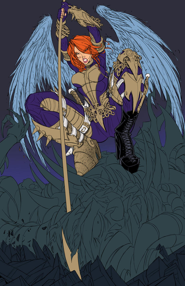Penny Cover - ANGEL WIP 03 by RobDuenas