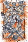 Commish 81 Hawkman Noir
