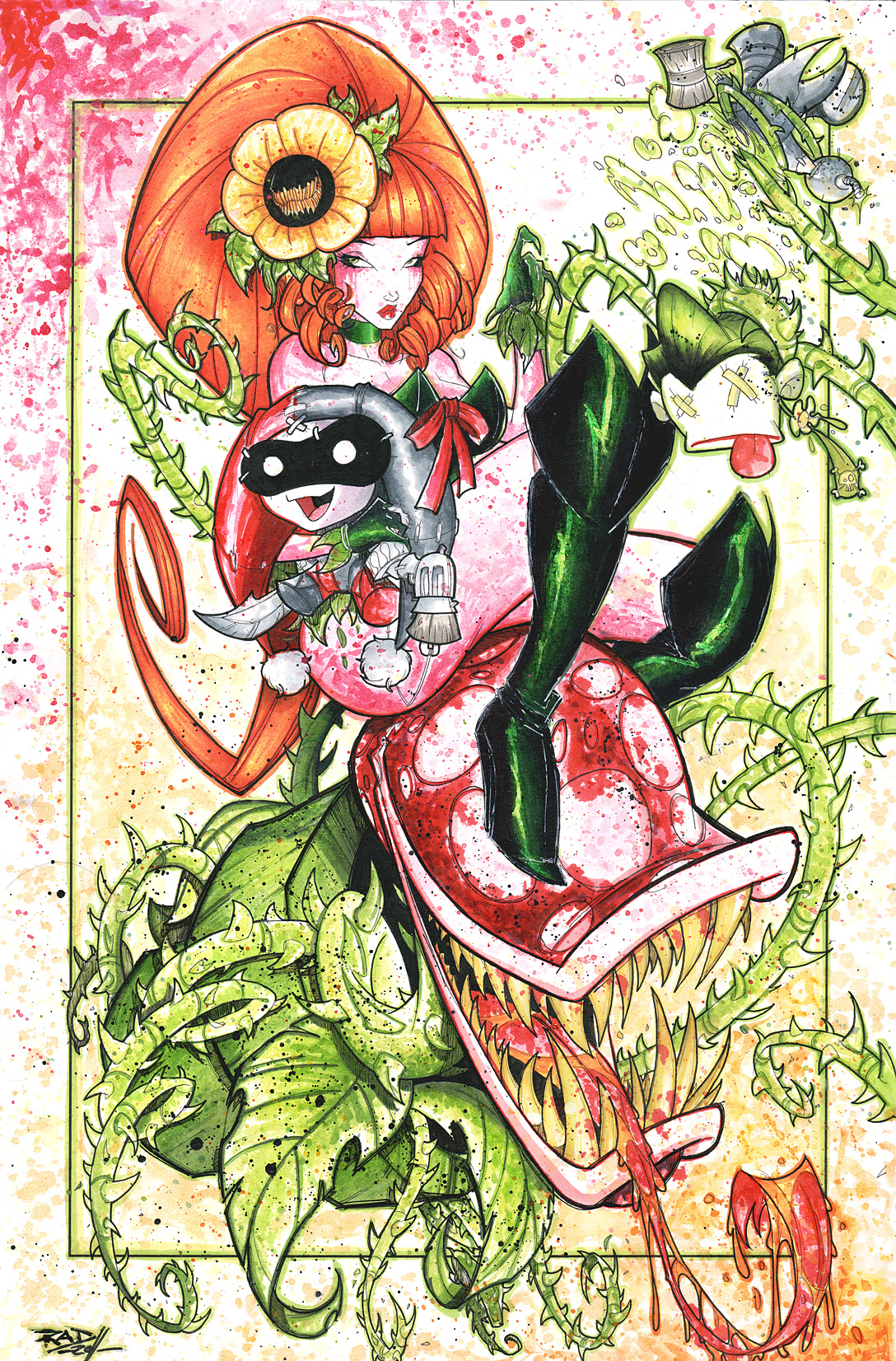 Commish 87 Poison Ivy Saucy by RobDuenas