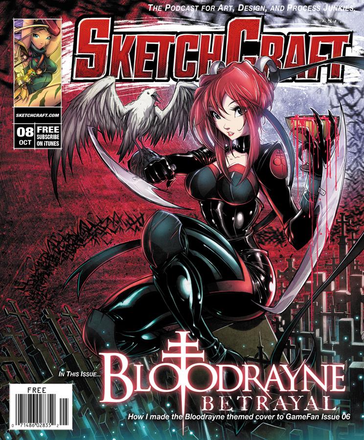 SketchCraft Issue 08 by RobDuenas