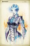Mass Effect Liara Saucy