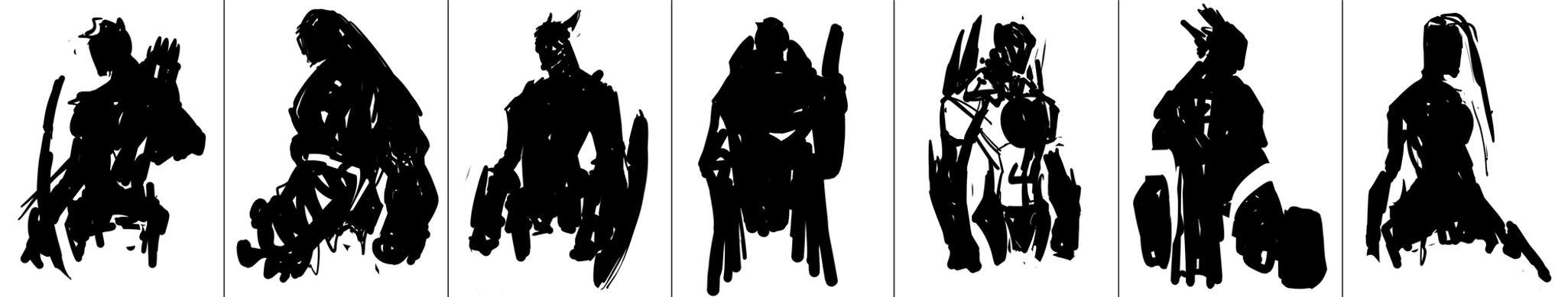 Avengers Silhouette Wallpaper Www Imgkid Com The Image