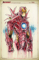 Iron Man Saucy by RobDuenas