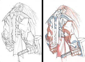 Avengers 'Saucy' Prints WIP 20 by RobDuenas