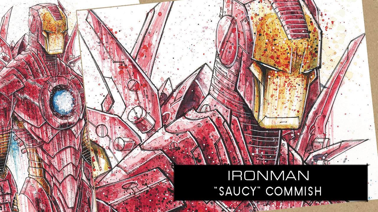 SpeedPaint: Iron Man by RobDuenas