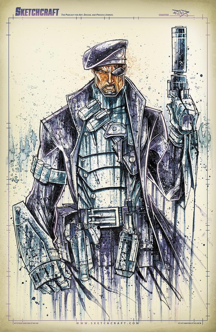 Nick Fury Saucy by RobDuenas